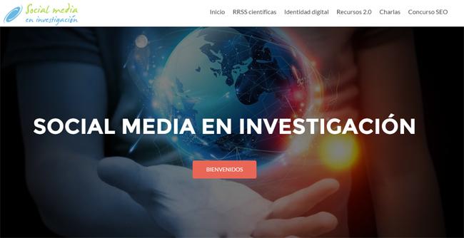 socialmedia investigacion web